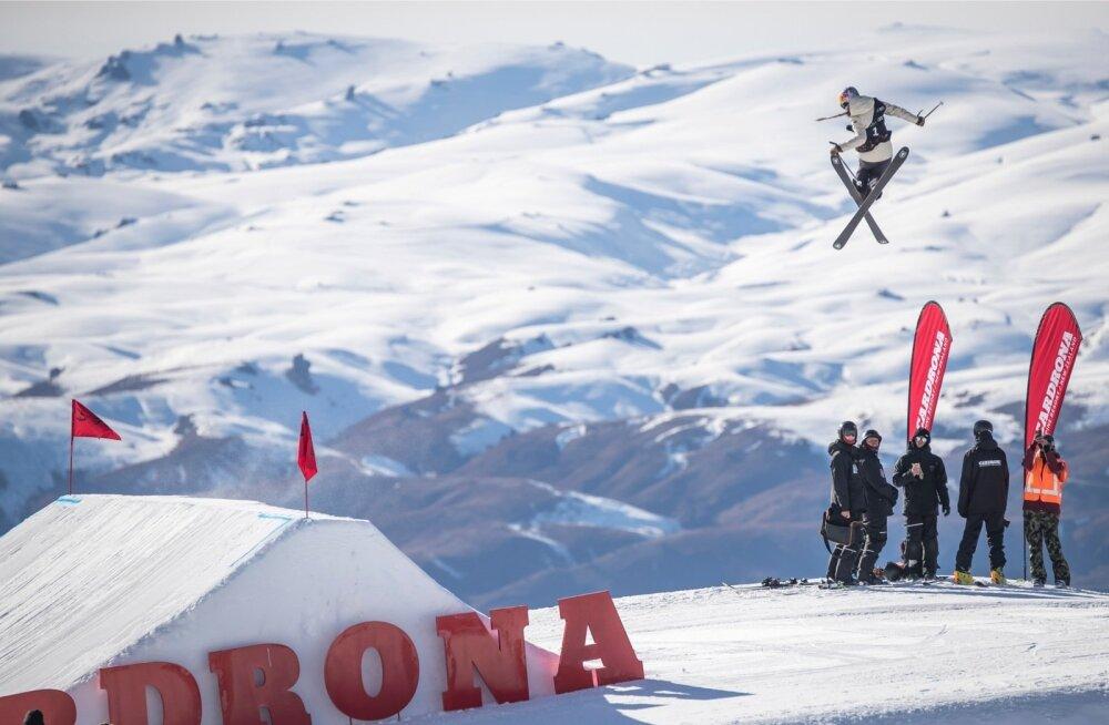 Kelly Sildaru hüpped lähevad aastatega aina võimsamaks.
