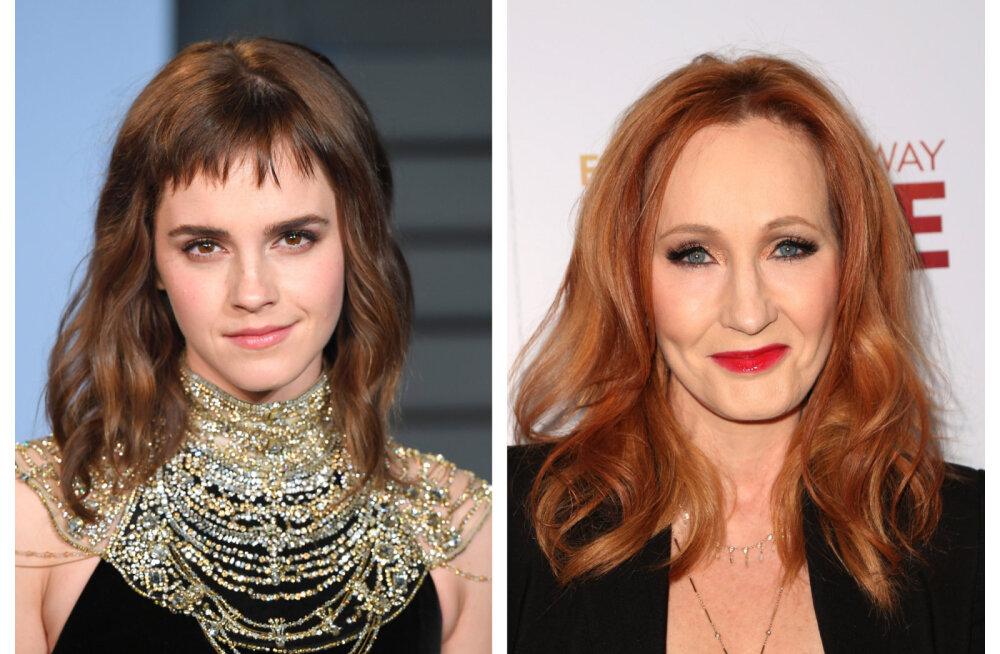 Emma Watson sekkus J.K. Rowlingut tabanud skandaali: me armastame teid sellisena nagu te olete