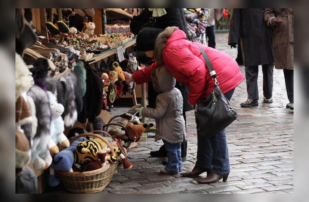 На новогодние праздники в Таллинне ожидается приток туристов из России
