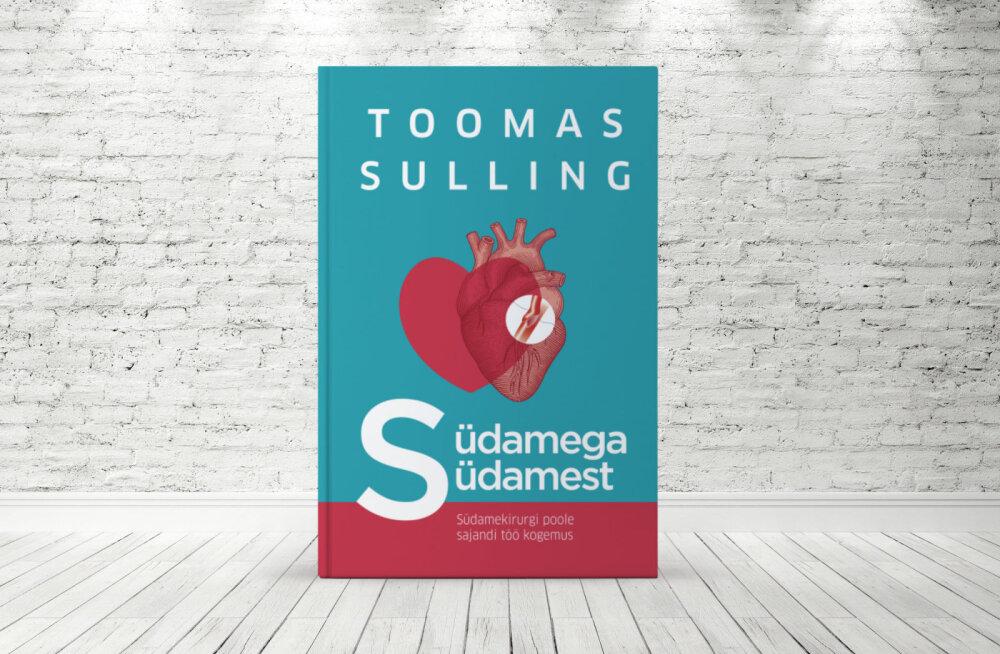 """Eesti tippkirurgilt Toomas Sullingult ilmus kauaoodatud raamat """"Südamega südamest"""""""