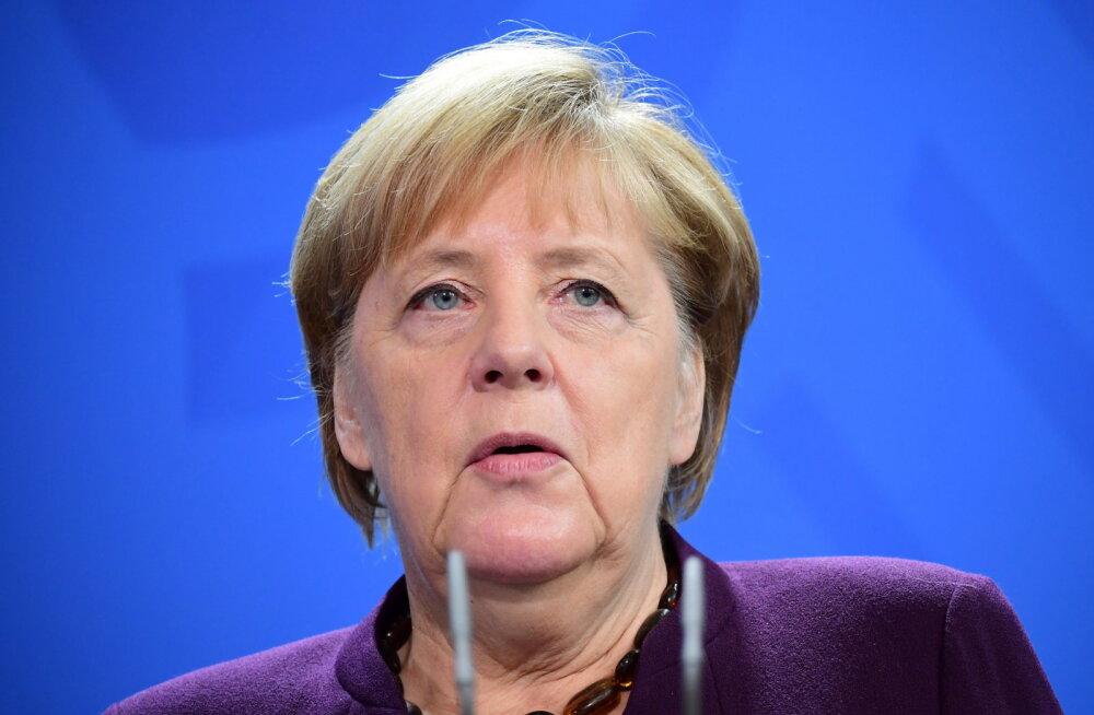Merkel hoiatas, et Brexiti-kokkulepe on ilma Briti järeleandmisteta ülekaalukalt ebatõenäoline