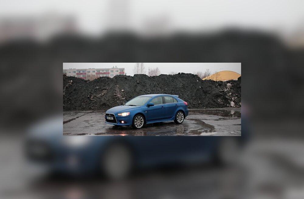 Forte test: atleedi näoga Mitsubishi Lancer Sportback