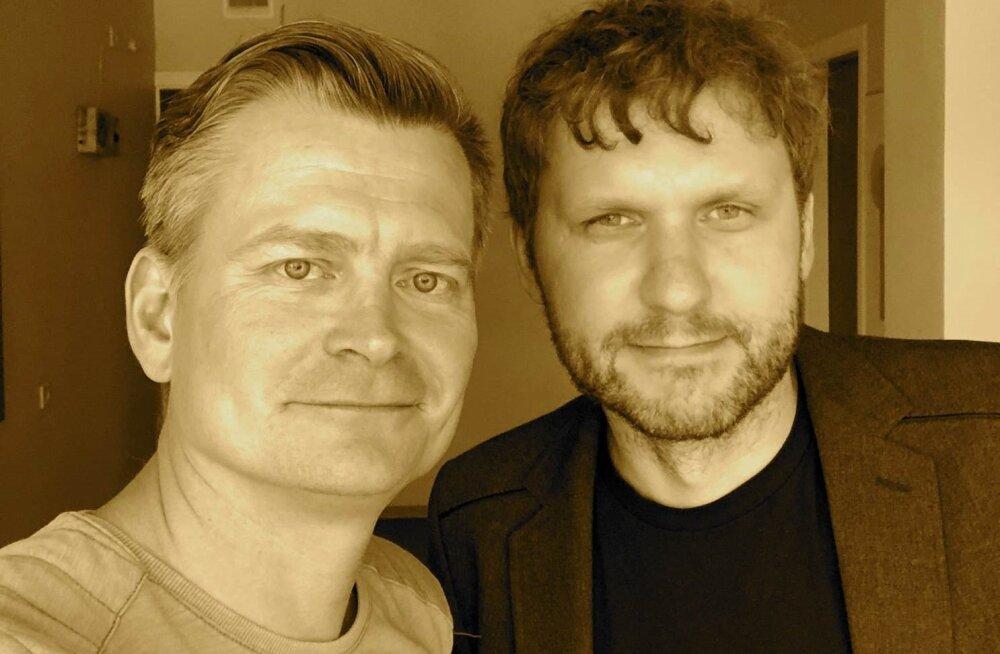 Veiko Valkiainen (vasakult) ja Andero Uusberg.