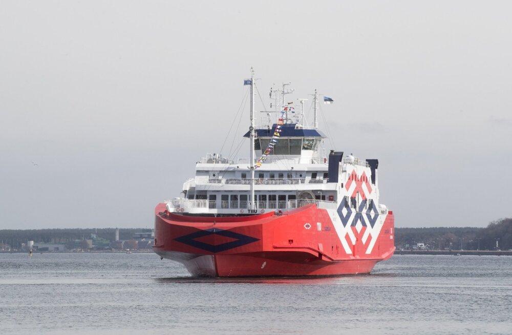 Parvlaevaliiklus suursaartega jätkub hõrendatud sõiduplaaniga ka maikuus