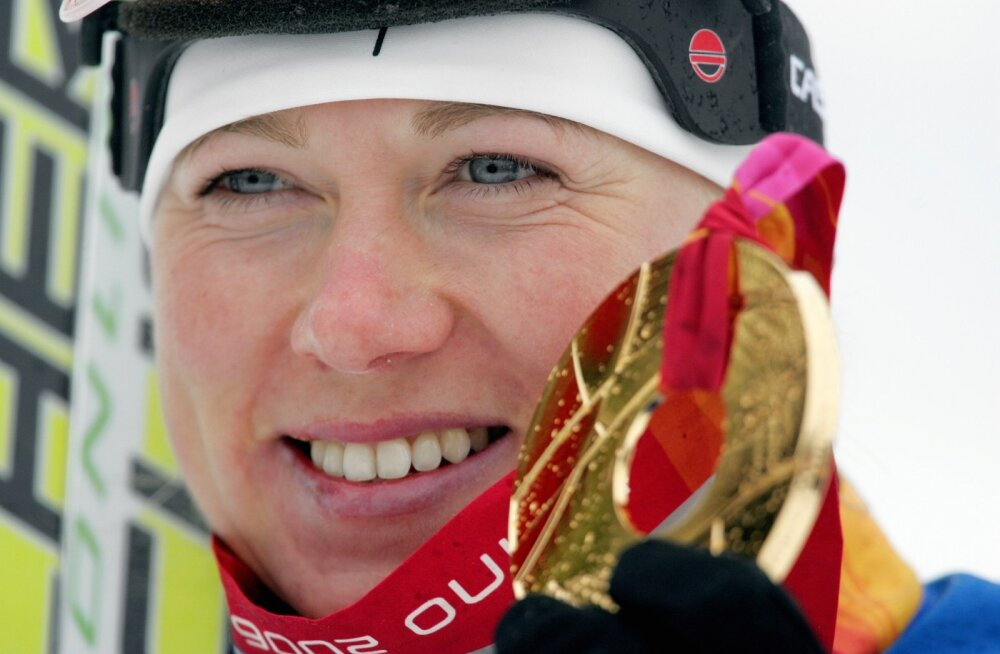 Kristina-Šmigun-Vähi Torino kuldmedaliga