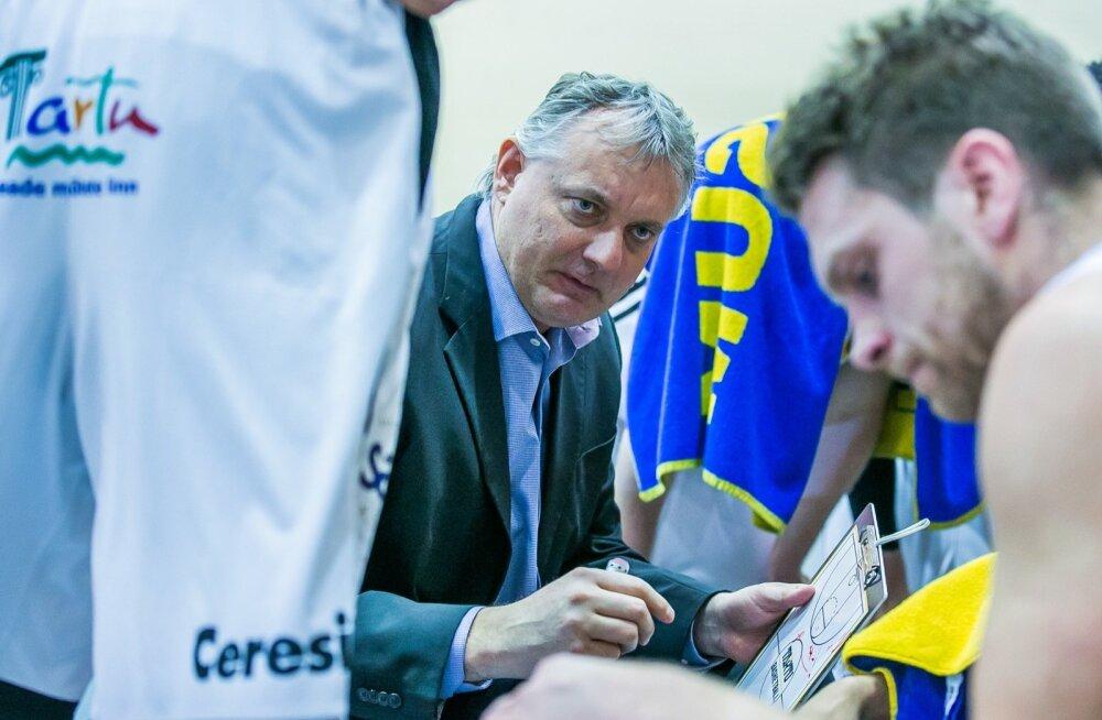 Tartu Ülikooli peatreener Gert Kullamäe peab raskest seisust välja tulemiseks sütitama enda ja seni tuimalt tegutsenud meeskonna.