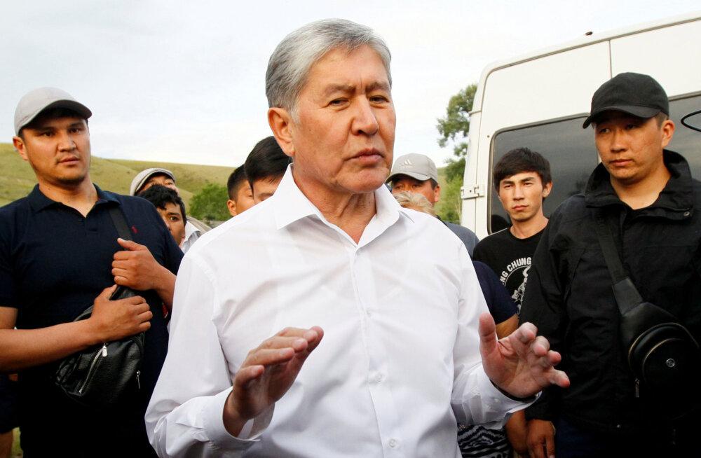 Kõrgõzstani endist presidenti süüdistatakse riigipöörde kavandamises