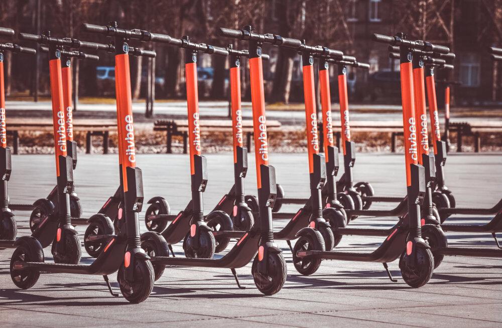 Bolti konkurent toob juba reedest Tallinna tänavatele 100 uut elektrilist tõukeratast