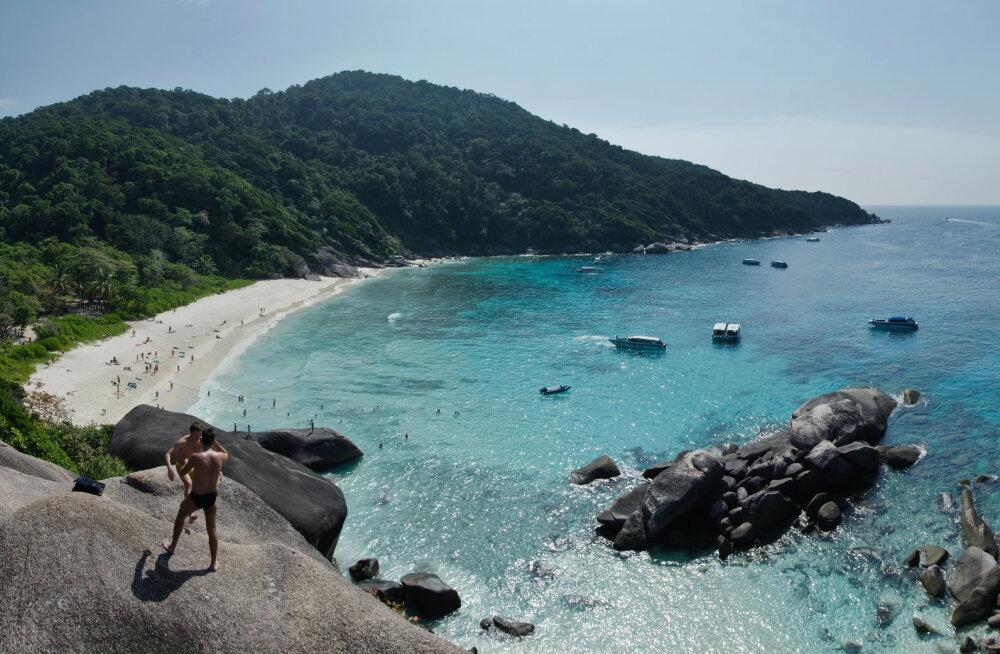 Üks ilusamaid Tai saari on nüüdsest turistidele suletud