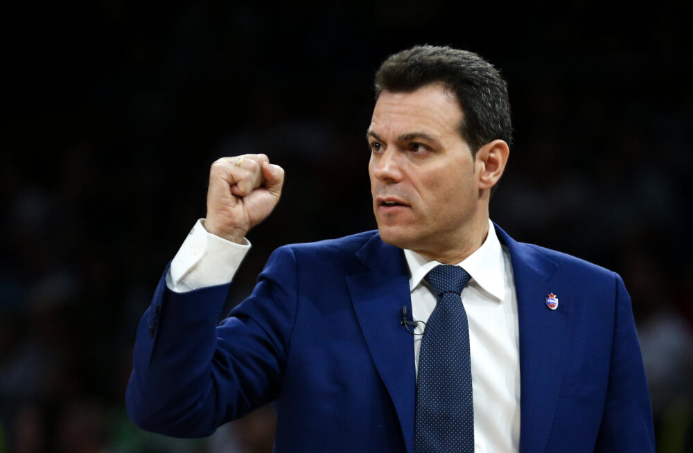 CSKA peatreener Dimitris Itoudis