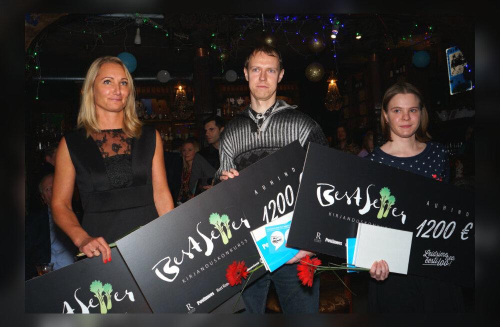 GALERII: Selgusid kirjanduskonkursi BestSeller 2015 võitjad ilu-, laste- ja aimekirjanduse žanrites