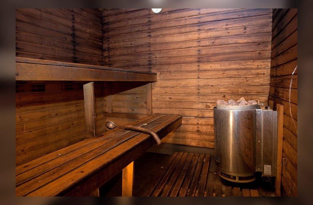 Kui sagedasti ja millises saunas teie käite?