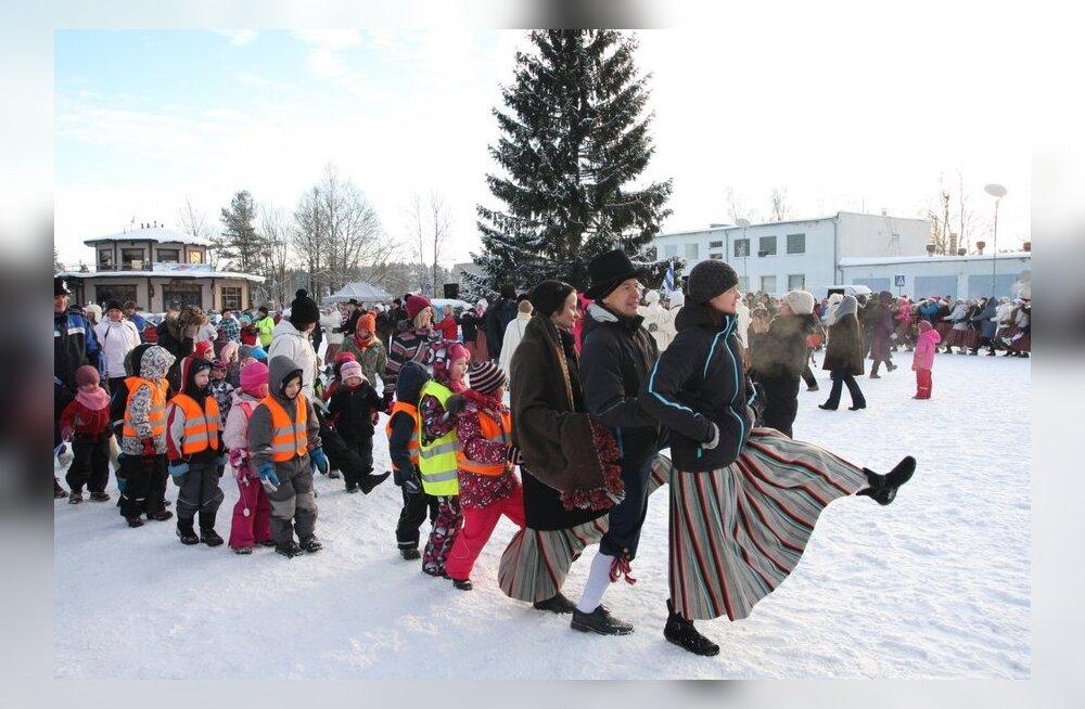 FOTOD: Otepää tantsis end jenka saatel talvepealinnaks