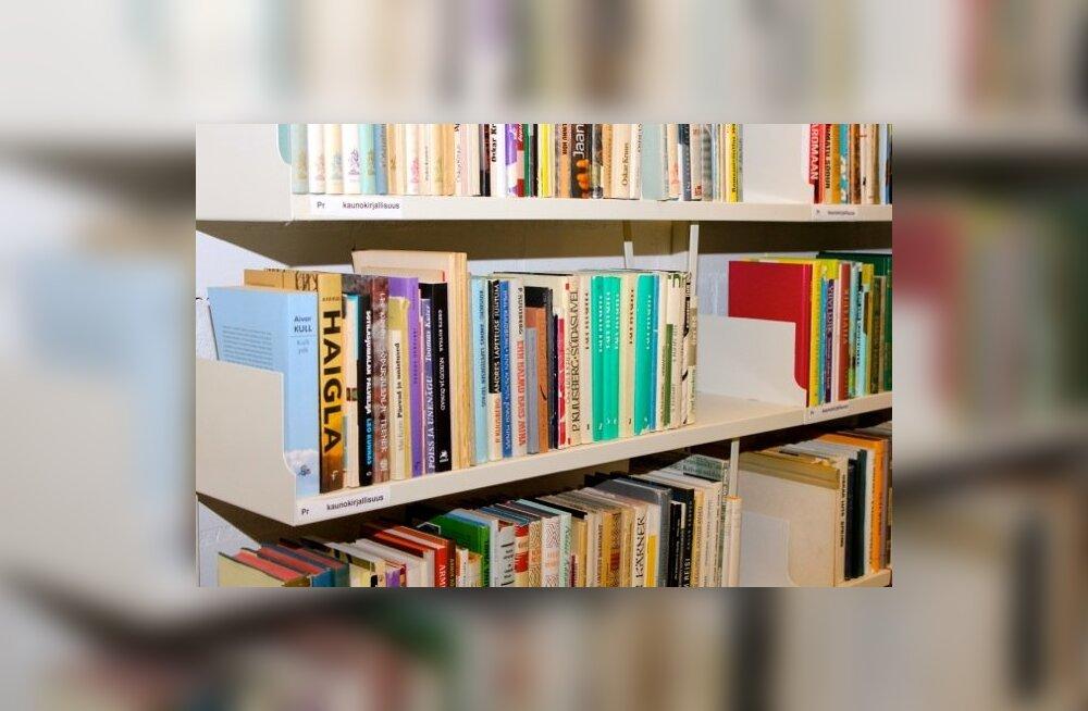 Raamatud, raamatukogu