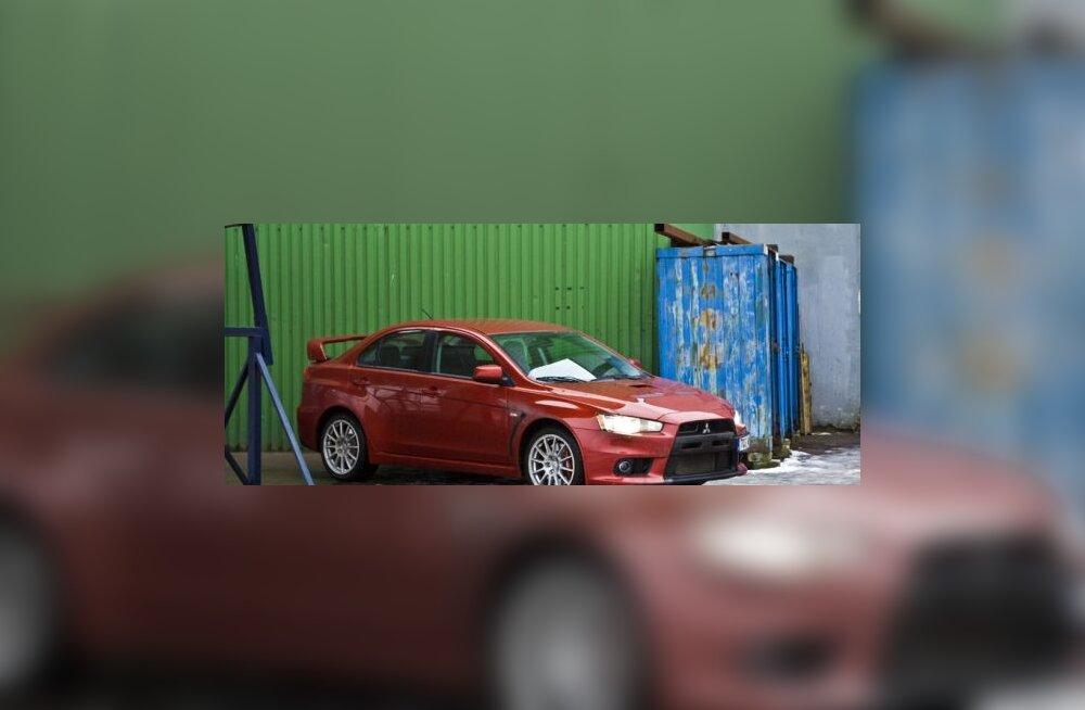 Mitsubishi Evo X, foto Elina Päsok