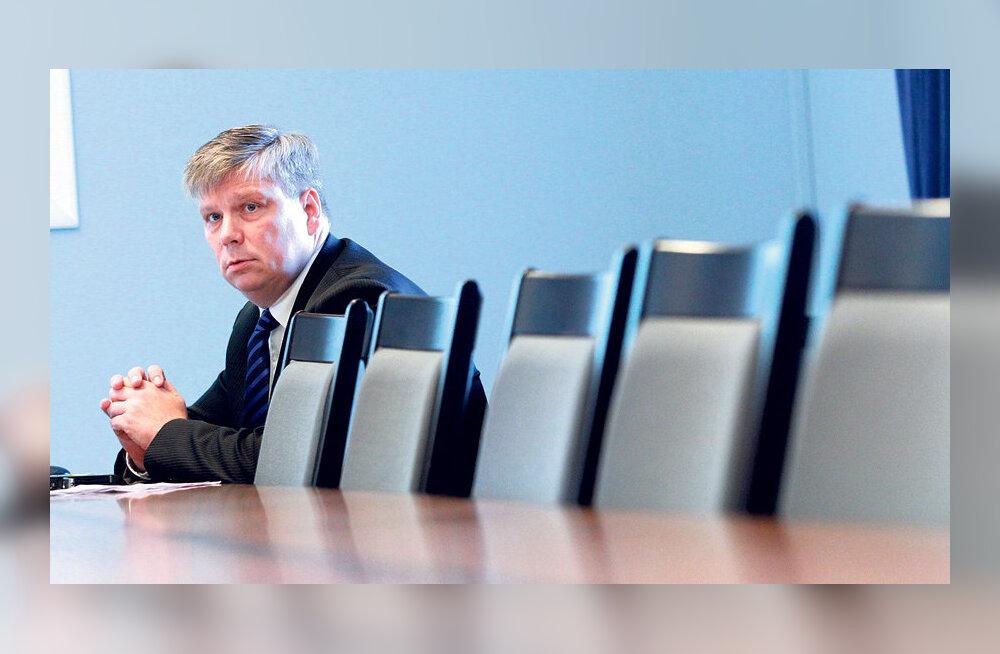 Minister seadis häbiposti planeeringuta vallad