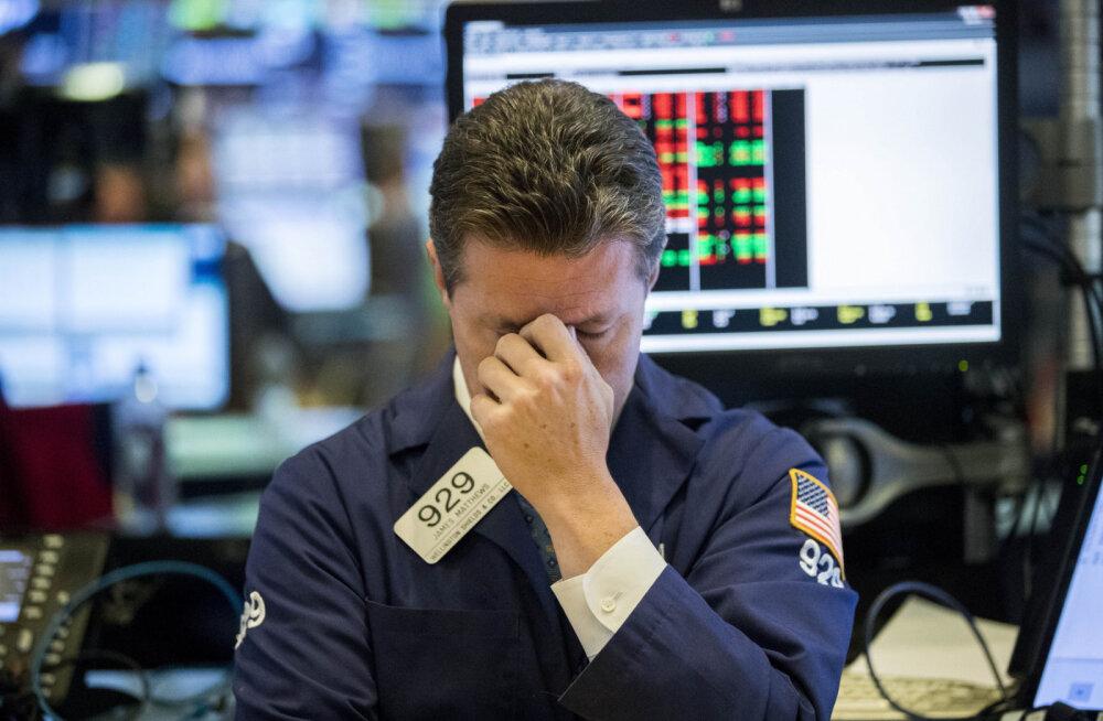 Börs: S&P ja Dow kaotasid kogu tänavuse tõusu