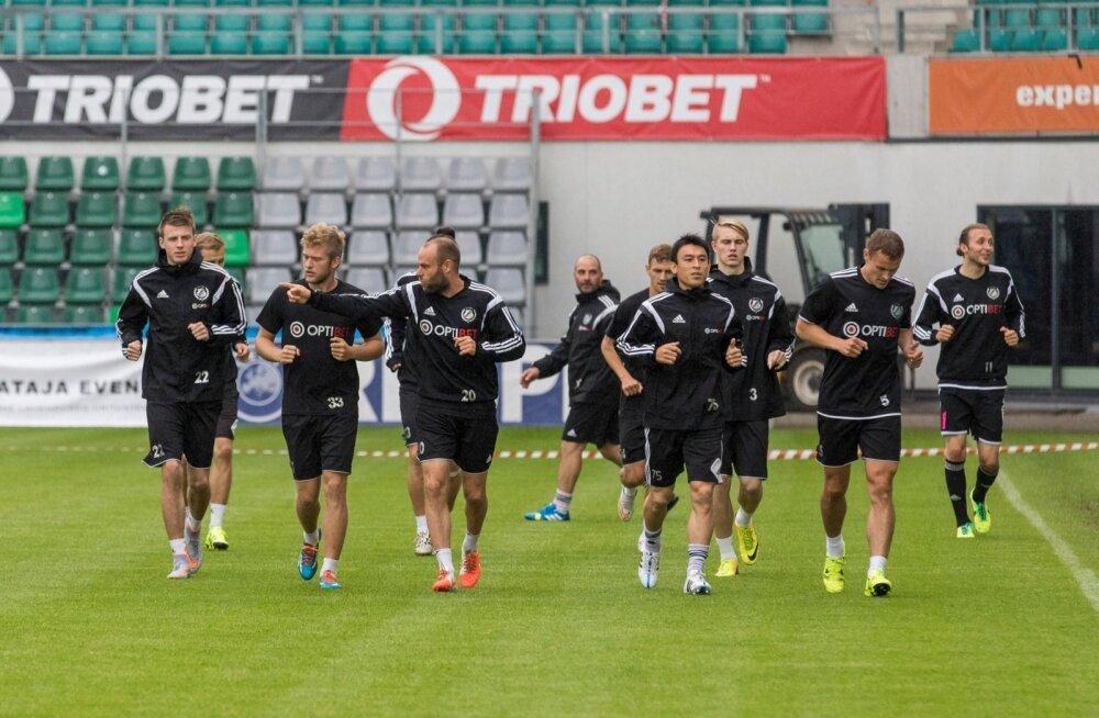 Jalgpalliklubide reiting: Eesti au päästnud Kalju taas tipus