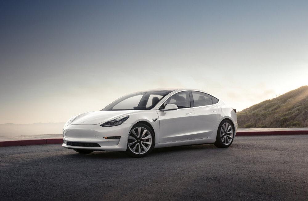 Investorid viskasid Tesla tulemuste peale silda