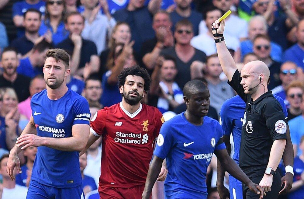 Mohamed Salah Chelsea mängijate vahel