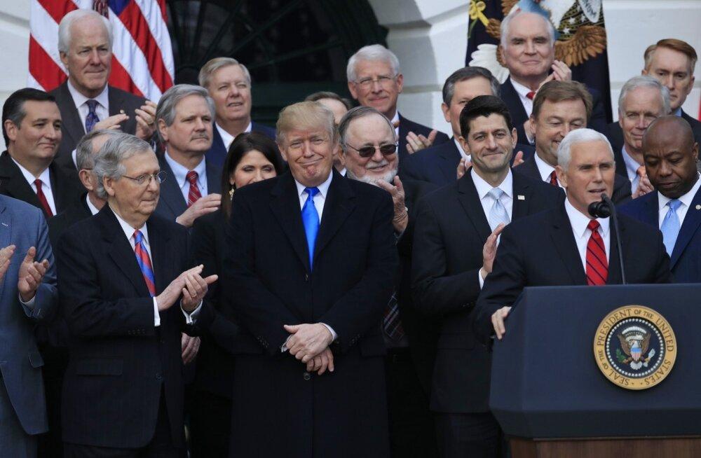 Analüüs: Trump võidab oma maksureformist isiklikult kuni 15 miljonit dollarit aastas