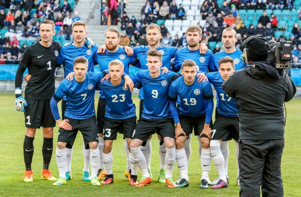 Jalgpall Eesti vs Horvaatia