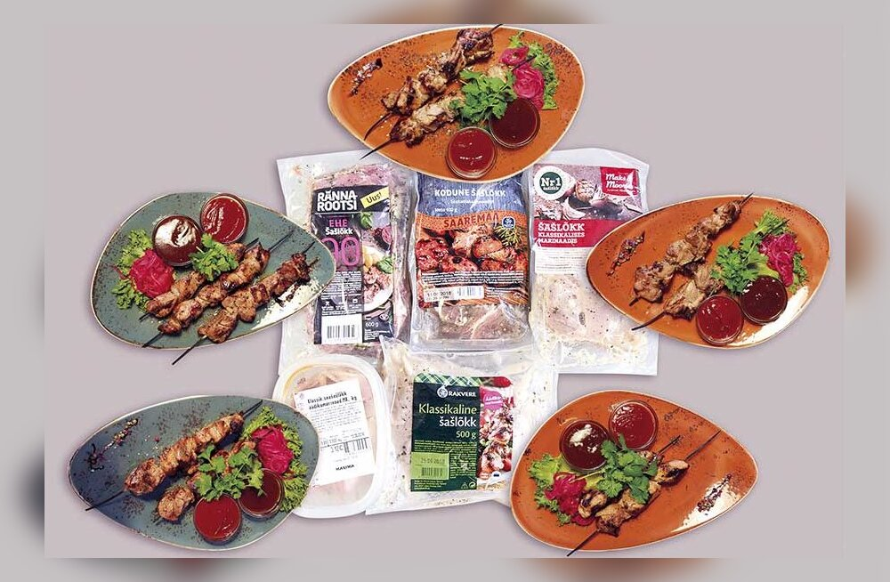 Экспертиза: какой из приготовленных по классическому рецепту магазинных шашлыков самый вкусный