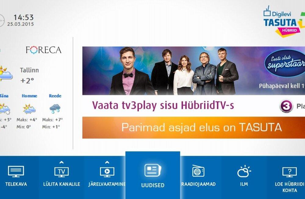 Uudne telekavaatamise lahendus hübriidTV: mis see on ja mida selle abil näeb