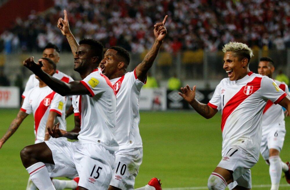 Peruu jalgpallurid