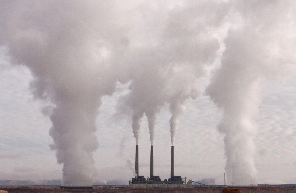 Pandeemia tõi kaasa kasvuhoonegaaside ajaloolise vähenemise