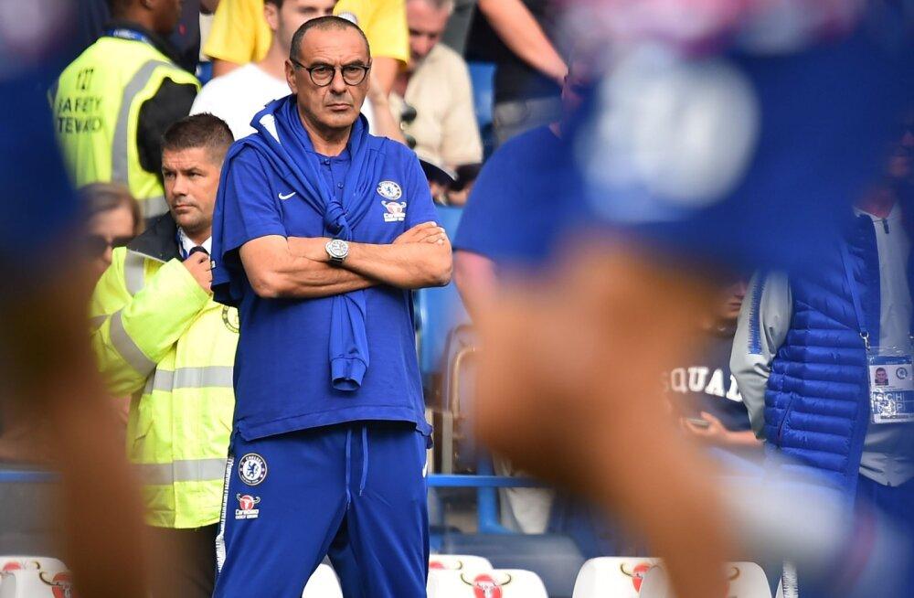 Chelsea peatreener Maurizio Sarri