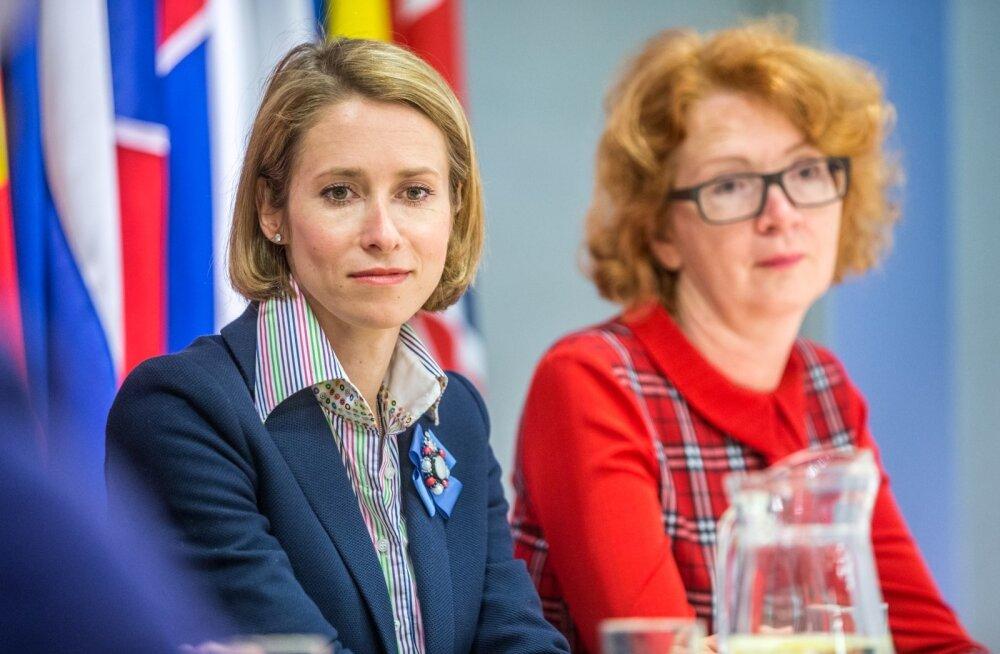 Kaja Kallas ja Yana Toom