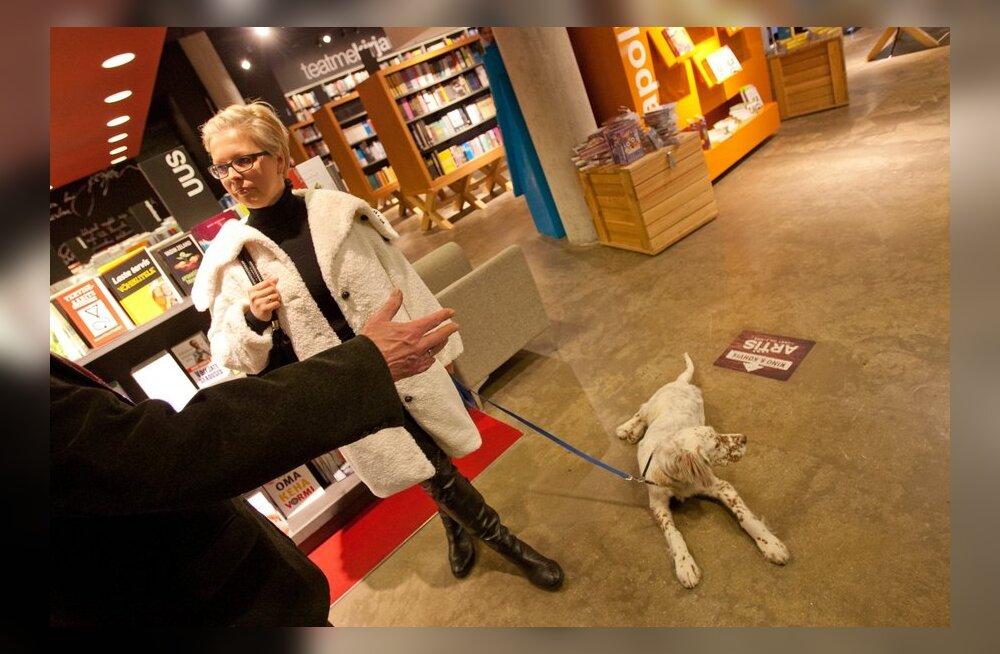 Kas koeraga võib tulla raamatupoodi?