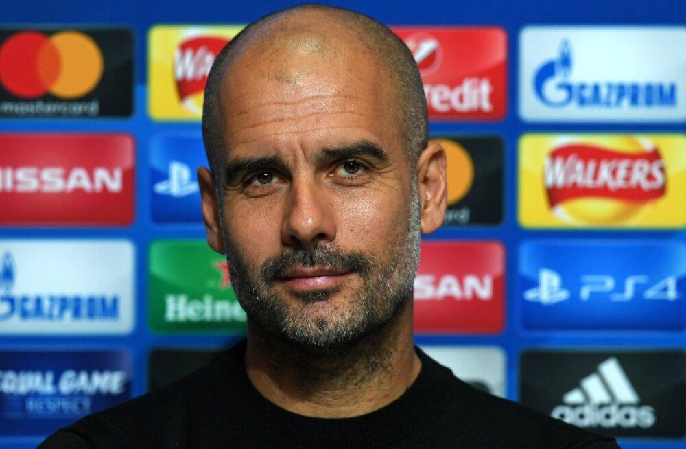 Pep Guardiola võib olla rahul - meeskond toimib hästi.