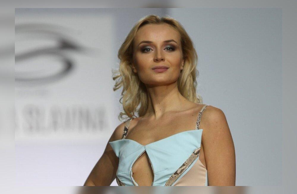 Полина Гагарина появилась на публике без причёски и