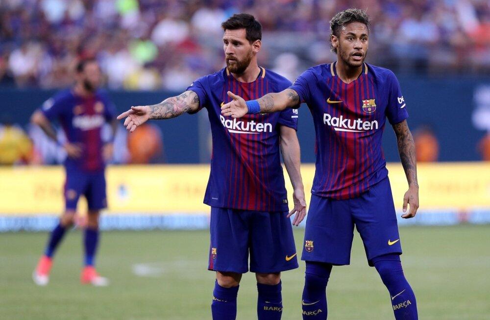 Lionel Messi ja Neymar on head sõbrad ning sooviksid taas ühes klubis mängida.