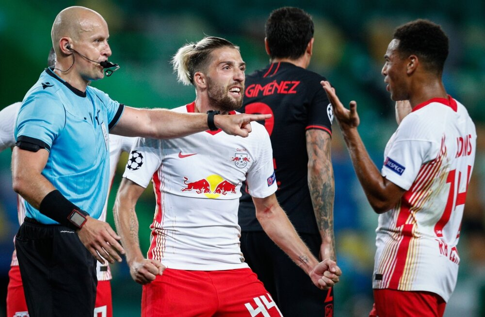Leipzig murdis veerandfinaalis maha Madridi Atletico, nüüd ootab ees PSG.