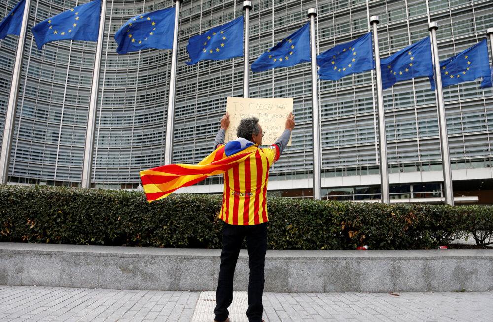Как в Европе отнеслись к референдуму в Каталонии