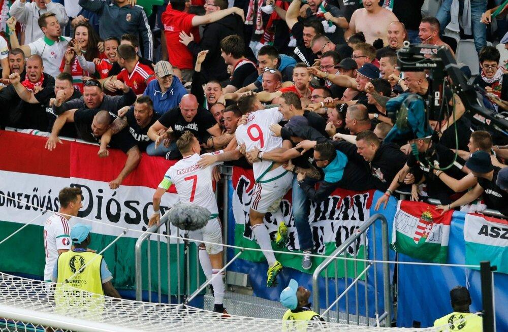 Austria vs Ungari jalgpall