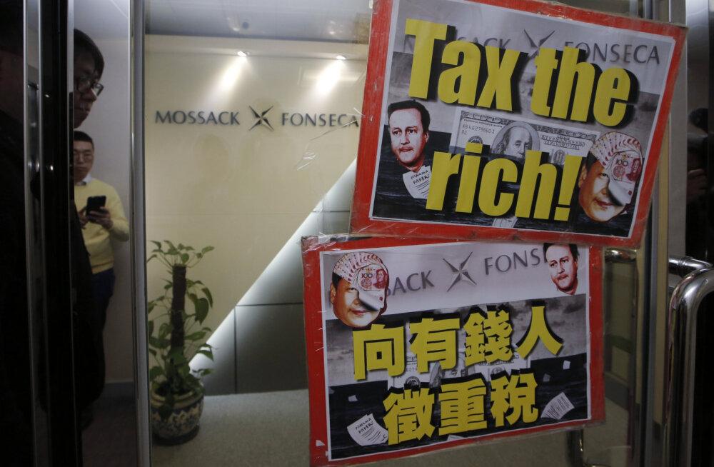 GRAAFIK: Kus asuvad maailma maksuparadiisid?