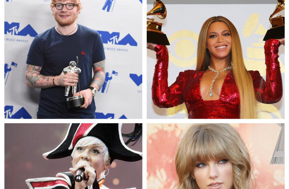 Võimas! Just see tuntud laulja on pea 5 miljoni kontserdi külalisega selle aasta edukaim!