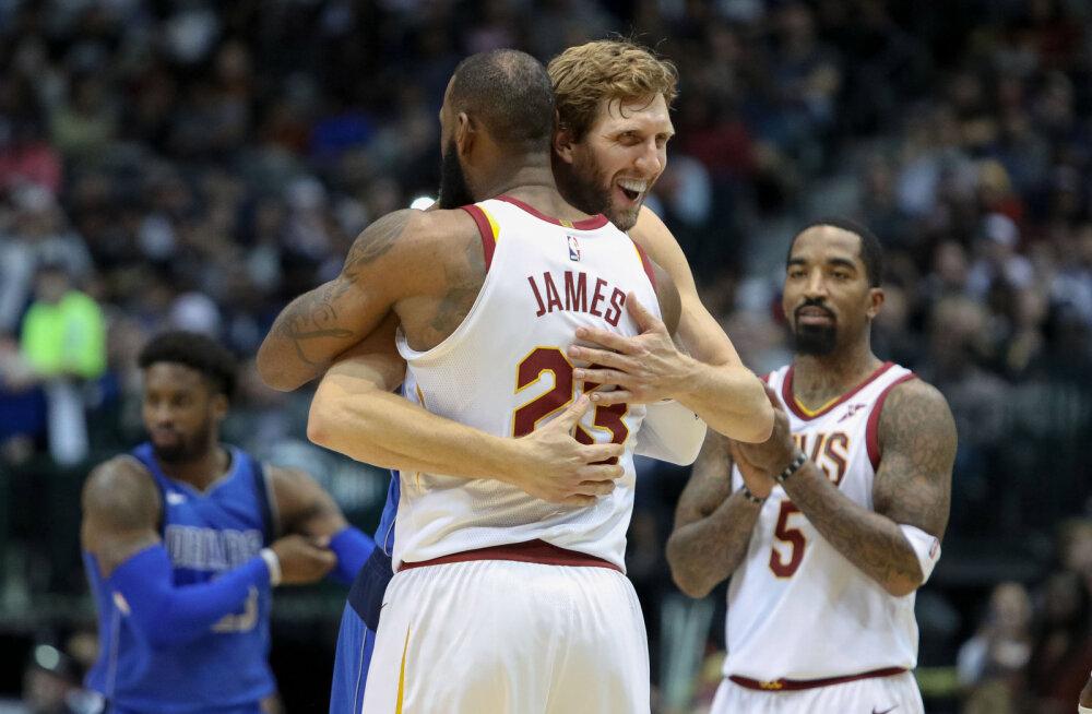 Dirk Nowitzki ja LeBron James
