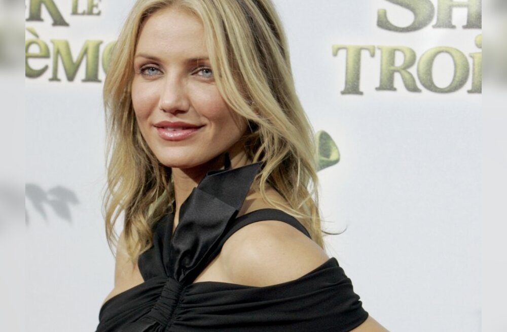 """Actress Cameron Diaz poses for photographers during a media event before the evening's premier of """"Shrek the Third,"""" Thursday, June 7, 2007 in Paris, France. """"Shrek the Third"""" is a computer animated comedy film of the famed Shrek series. It was produced b"""