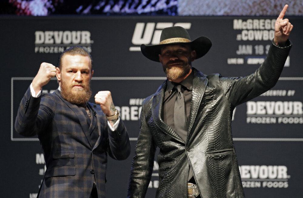 Conor McGregor ja Kauboi sattusid loomaõiguslaste kriitika alla: ainult argpüks käituks niimoodi
