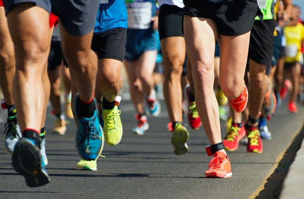 Jooksuspordi vigastusriskid ning nende ennetamine