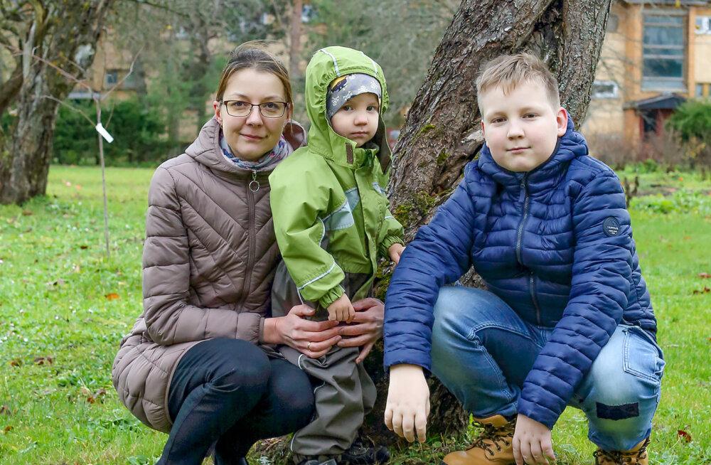 cf577114aba RASKE HAIGUSEGA PEREEMA | Ma tahan ju ka näha, kuidas mu lapsed suureks  kasvavad.