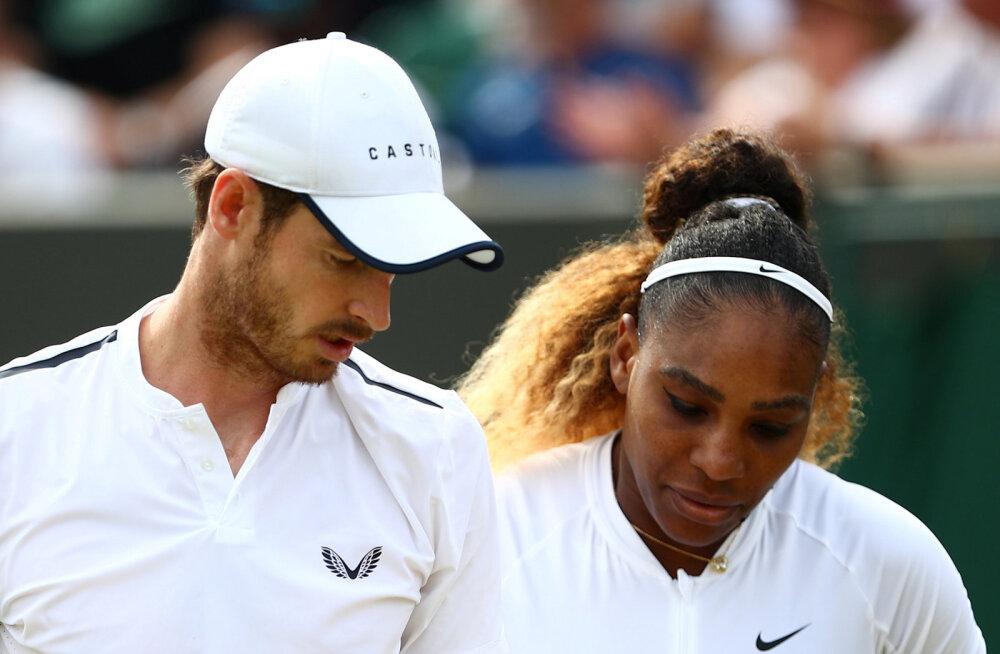 Tennisemaailma superpaar langes Wimbledonilt välja