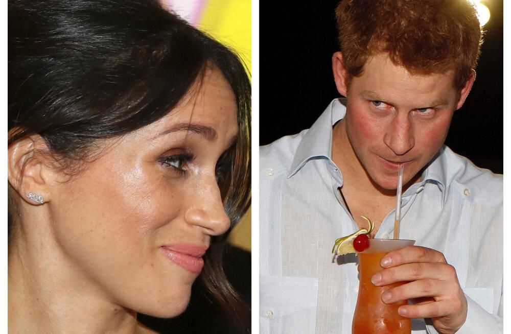 Napsitamisel kriips peal! Prints Harry elust jäävad uuest aastast alkohol ja tee ära