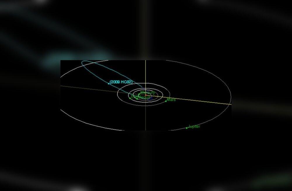 Täheteadlased avastasid tagurpidi liikuva asteroidi