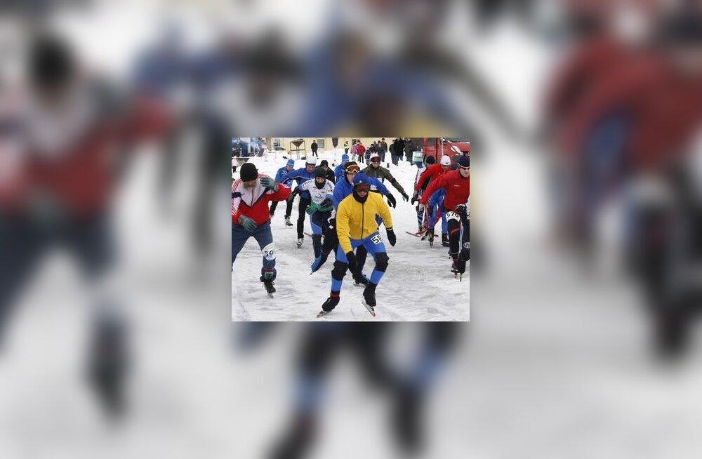 Kalevipoja IV Uisumaratoni planeeritav toimumise aeg on 10. märts